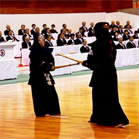 圧巻の勝利ー剣道(成年女子決勝)