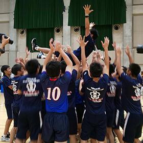 バレーボール少年男女は京都と東京が優勝