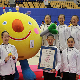 国体最初の優勝は ー体操(新体操 団体少年女子)