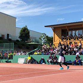 男女ともに白熱した試合に-ソフトテニス成年男女