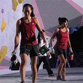 スポーツクライミング女王の前に立ちはだかる壁(ボルダリング成年女子)