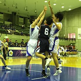 愛知が連覇―バスケットボール少年女子