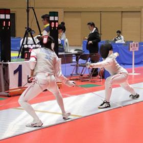 男子は秋田が2連覇 女子は和歌山が6年ぶりV-フェンシング成年男子・女子フルーレ